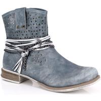 Sapatos Mulher Botins Kimberfeel MARGOT Azul