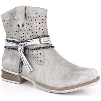 Sapatos Mulher Botins Kimberfeel MARGOT Cinza