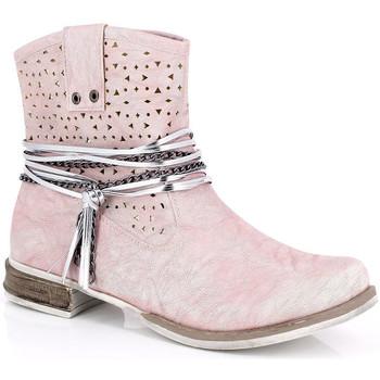 Sapatos Mulher Botins Kimberfeel MARGOT Rosa