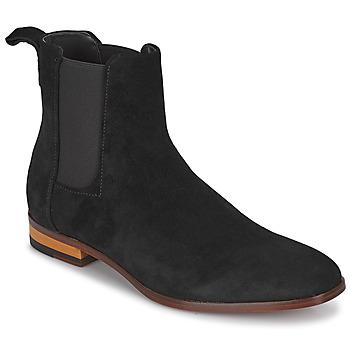 Sapatos Homem Botas baixas HUGO CULT CHEB Preto