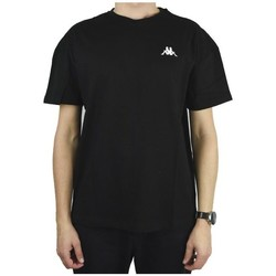 Textil Homem T-Shirt mangas curtas Kappa Veer Tshirt Preto