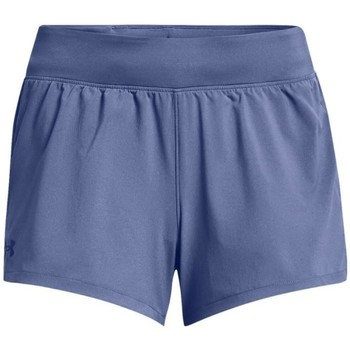 Textil Mulher Shorts / Bermudas Under Armour Launch SW 3 Short Azul