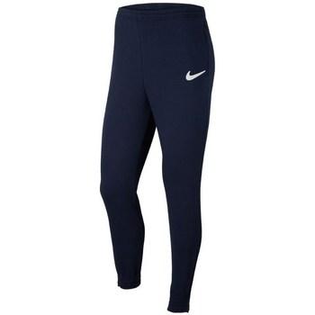 Textil Homem Calças Nike Park 20 Fleece Azul marinho