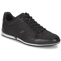 Sapatos Homem Sapatilhas BOSS SATURN LOWP NYS Preto
