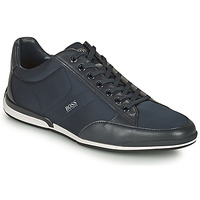 Sapatos Homem Sapatilhas BOSS SATURN LOWP NYST Marinho