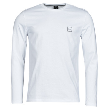 Textil Homem T-shirt mangas compridas BOSS TACKS Branco
