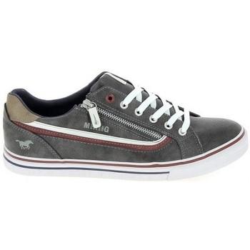 Sapatos Sapatilhas Mustang Sneaker 4147301 Gris fonce Cinza