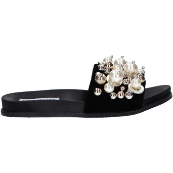 Sapatos Mulher Slip on Steve Madden DELICATE Negro