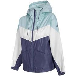 Textil Mulher Casacos  4F KUDC001 Branco, Azul, Azul marinho