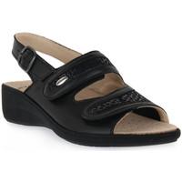 Sapatos Mulher Sandálias Grunland NERO 68ESTA Nero