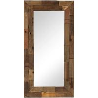 Casa Espelhos VidaXL Espelho 50 x 110 cm Marrom