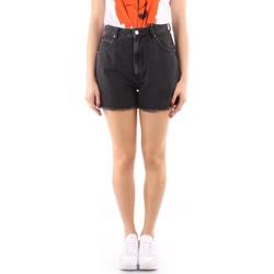 Textil Mulher Shorts / Bermudas Roy Rogers P21RND107N0461684 Preto