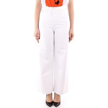 Textil Mulher Calças finas / Sarouels Roy Rogers P21RND091P3211755 Branco