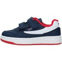 Sapatos Rapaz Sapatilhas Fila 1011078 Azul