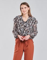 Textil Mulher Tops / Blusas Betty London OCARA Preto / Multicolor