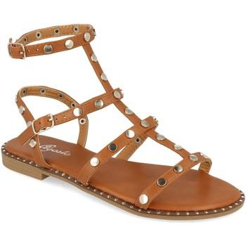Sapatos Mulher Sandálias Tephani TF2255 Camel