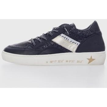 Sapatos Homem Sapatilhas Cetti 1257 Negro