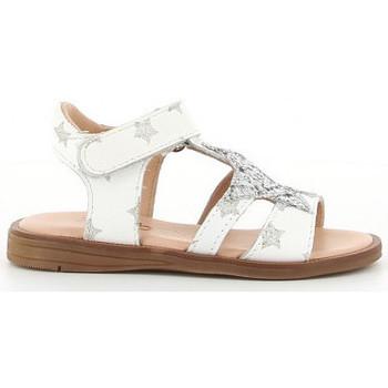 Sapatos Rapariga Sandálias Acebo's 3149 PE blanc