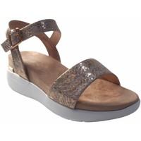 Sapatos Mulher Sandálias Maria Mare Sandália senhora  68091 ouro Prata