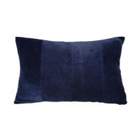 Casa Almofadas Present Time RIBBED Azul