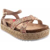 Sapatos Rapariga Sandálias MTNG Sandália de menina MustANG KIDS 48269 bege Branco