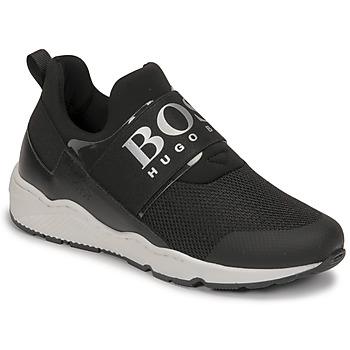 Sapatos Rapaz Sapatilhas BOSS FETINA Preto