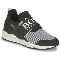 Sapatos Rapaz Sapatilhas BOSS NATINA Preto / Branco