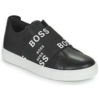 Sapatos Criança Sapatilhas BOSS KAMILA Preto / Branco
