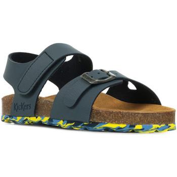 Sapatos Rapaz Sandálias Kickers Sunkro Azul