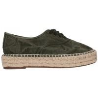 Sapatos Homem Alpargatas Natural World 687E  622 Mujer Kaki vert