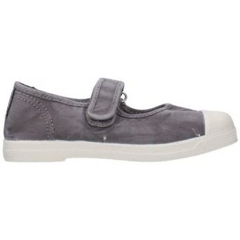 Sapatos Rapariga Sapatilhas Natural World 476E 623 Niña Gris gris