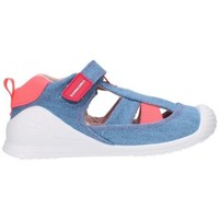 Sapatos Rapaz Sandálias Biomecanics 212215 Niño Jeans bleu