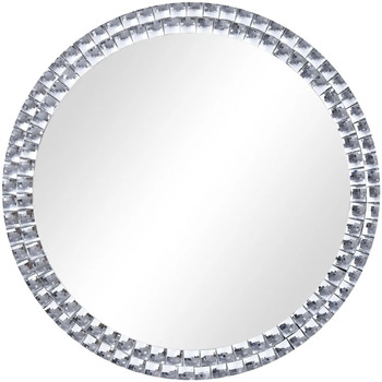 Casa Espelhos VidaXL Espelho de parede 60 cm Prateado