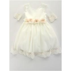 Textil Rapariga Vestidos curtos Bella Brilli BB402157 Bege