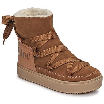 Sapatos Mulher Botas de neve See by Chloé CHARLEE Camel