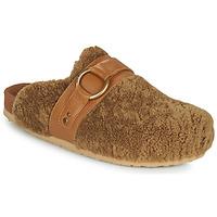 Sapatos Mulher Chinelos See by Chloé GEMA Camel