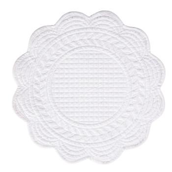 Casa Conjunto de mesa Côté Table BOUTIS Branco