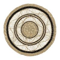Casa Conjunto de mesa Sema FLOR-GIPSY Preto