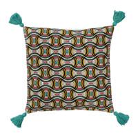 Casa Capas de Almofada Sema AFRIC-VIB Azul