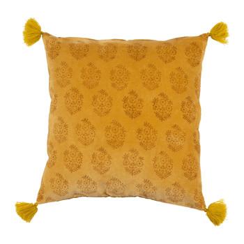 Casa Capas de Almofada Sema BAYLEEN Amarelo / Mostarda