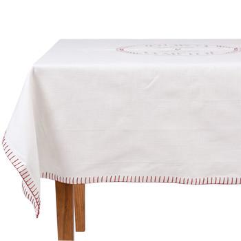 Casa Toalha de mesa Comptoir de famille NAPPE CARRÉE Branco