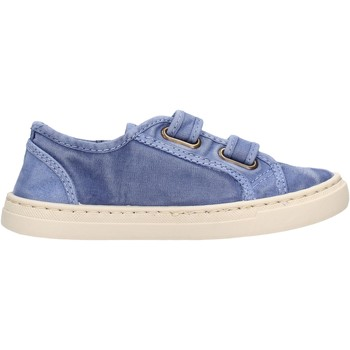 Sapatos Rapaz Sapatilhas Natural World - Sneaker blu 6471E-690 BLU