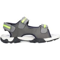 Sapatos Rapaz Sandálias Docksteps - Sandalo grigio/giallo BOXE2 GRIGIO