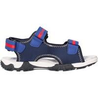 Sapatos Rapaz Sandálias Docksteps - Sandalo blu/rosso BOXE1 BLU