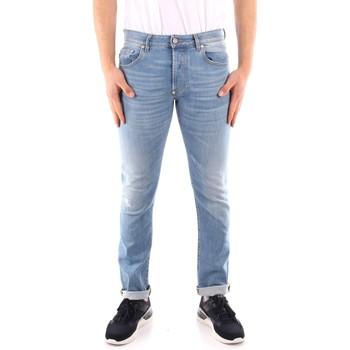 Textil Homem Calças de ganga slim Blauer 21SBLUP03402 Azul