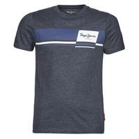 Textil Homem T-Shirt mangas curtas Pepe jeans KADE Azul