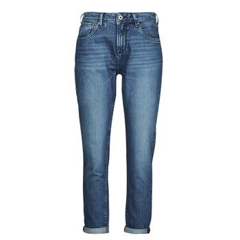 Textil Mulher Calças Jeans Pepe jeans VIOLET Azul