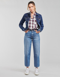 Textil Mulher Calças Jeans Pepe jeans DOVER Azul / Claro