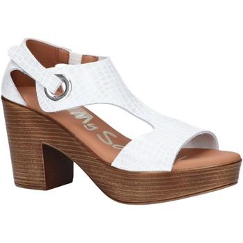 Sapatos Mulher Sandálias Oh My Sandals 4904-HY1 Blanco
