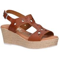 Sapatos Mulher Sandálias Oh My Sandals 4867-V62 Marr?n
